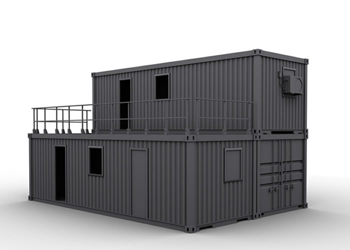 Container Office Units 017 Container Kings Thailand